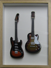 Mini Guitars framed